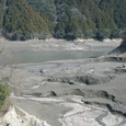 佐久間ダム湖:富山村:堆砂状況
