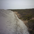 5000㎥の砂の北側!