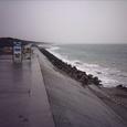 竜洋町の海岸・護岸1