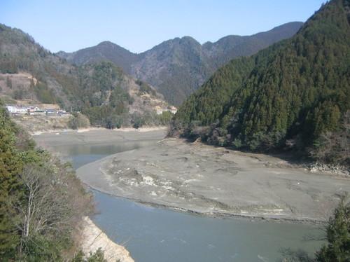 天竜川流砂促進事業