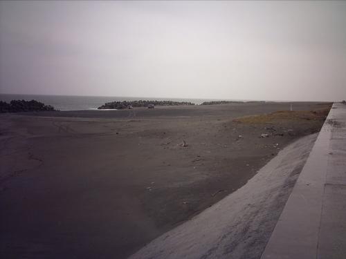 竜洋町の海岸